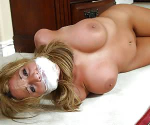 Category: gagged and taped mouth