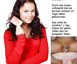 German Chastity Captions